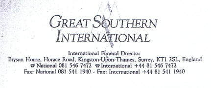 Written Great Southern International